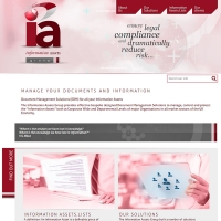 IA Group web site screenshot