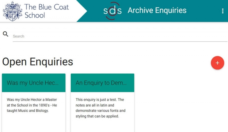 Archivists' Enquiry Tool banner